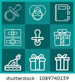 outline other icon set such as... | Shutterstock .eps vector #1089740159