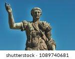 Rome  Bronze Statue Of Emperor...