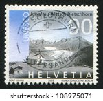 switzerland   circa 2003  stamp ... | Shutterstock . vector #108975071