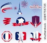 bastille day  great design for... | Shutterstock .eps vector #1089755735