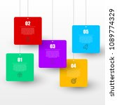 infographic design template.... | Shutterstock .eps vector #1089774329