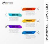 infographic design template.... | Shutterstock .eps vector #1089774365