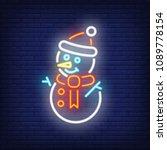 Snowman Night Bright Sign...
