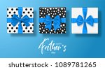 happy father s day greeting... | Shutterstock .eps vector #1089781265