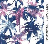beautiful trendy seamless... | Shutterstock .eps vector #1089781301