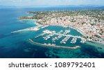 aerial drone bird's eye view... | Shutterstock . vector #1089792401