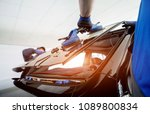 automobile special workers...   Shutterstock . vector #1089800834