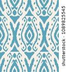 ikat seamless pattern. vector...   Shutterstock .eps vector #1089825545