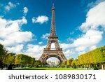 paris eiffel tower | Shutterstock . vector #1089830171