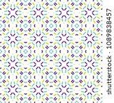 ancient geometric pattern in...   Shutterstock . vector #1089838457