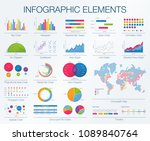 digital market  finance bank ... | Shutterstock .eps vector #1089840764