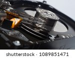 image of a computer disk  piece ... | Shutterstock . vector #1089851471