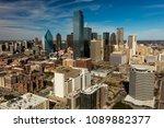 march 5  2018  dallas skyline... | Shutterstock . vector #1089882377