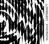 abstract grunge grid stripe... | Shutterstock .eps vector #1089886877