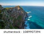 landscape of cape of good hope  ...   Shutterstock . vector #1089907394