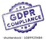 Gdpr Compliance Stamp Seal....