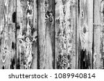 wooden texture with scratches... | Shutterstock . vector #1089940814