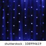 blue christmas background - stock photo