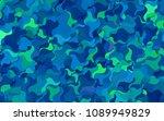 light blue vector abstract... | Shutterstock .eps vector #1089949829
