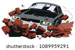 stock illustration. car... | Shutterstock .eps vector #1089959291