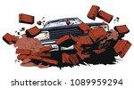 stock illustration. car...   Shutterstock .eps vector #1089959294