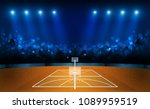 basketball arena field with... | Shutterstock .eps vector #1089959519