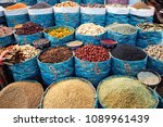 herbs and spices at iranian... | Shutterstock . vector #1089961439