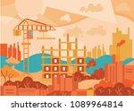 cartoon illustration. flat... | Shutterstock .eps vector #1089964814