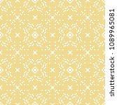 vector seamless pattern.... | Shutterstock .eps vector #1089965081
