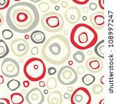 vector seamless pattern. modern ... | Shutterstock .eps vector #108997247