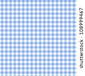 A Dark  Blue Gingham Fabric...