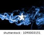 somalia smoke flag | Shutterstock . vector #1090003151