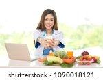 professional doctor in... | Shutterstock . vector #1090018121