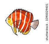 fish vector illustration   Shutterstock .eps vector #1090029401