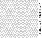 seamless diamonds pattern.... | Shutterstock .eps vector #1090043687