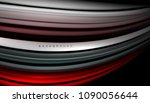 abstract wave lines fluid color ... | Shutterstock .eps vector #1090056644