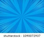 pop art comic background with... | Shutterstock .eps vector #1090072937