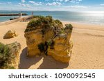 beach batata in lagos in the... | Shutterstock . vector #1090092545