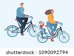 vector cartoon illustration of... | Shutterstock .eps vector #1090092794