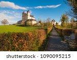pilgrimage church maria plain... | Shutterstock . vector #1090095215