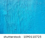 blue wood texture. old shabby... | Shutterstock . vector #1090110725