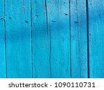 blue wood texture. old shabby... | Shutterstock . vector #1090110731