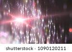 abstract pink bokeh circles....   Shutterstock . vector #1090120211