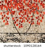 collection of designer oil... | Shutterstock . vector #1090128164