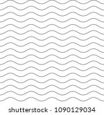 seamless horizontal waves... | Shutterstock .eps vector #1090129034