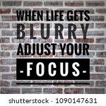 motivational and inspirational... | Shutterstock . vector #1090147631