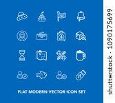 modern  simple vector icon set...   Shutterstock .eps vector #1090175699