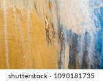 painted abstract background | Shutterstock . vector #1090181735