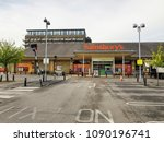 brighouse  uk   may 13  2018  ... | Shutterstock . vector #1090196741