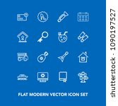 modern  simple vector icon set...   Shutterstock .eps vector #1090197527